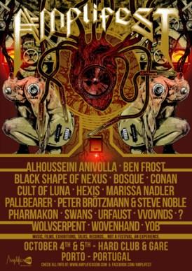 Cartel del Amplifest 2014