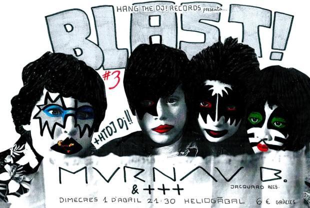 Cartel de la tercera BLAST organizada por Hang the DJ!