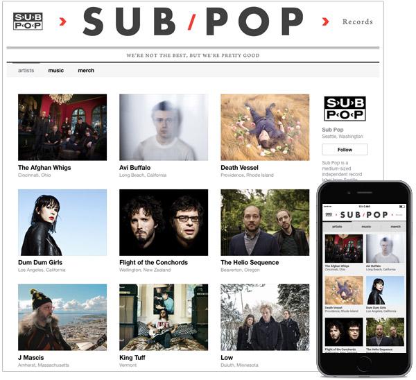 Sub Pop, unod e los grandes reclamos para esta nueva etapa de Bandcamp