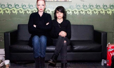 Cover compartido para Garbage y Screaming Females
