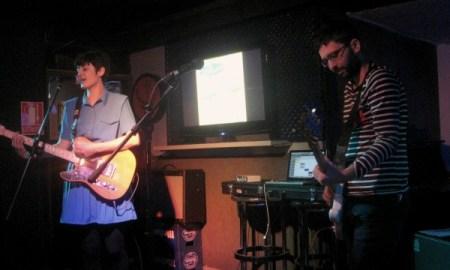 Un instante del concierto de Los Bonsáis en Underground
