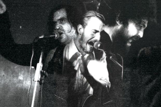 Imagen promocional de Medievo, con Pablo Und Destruktion