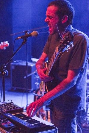 David Paco, en directo // Fotografía de Frederic Navarro