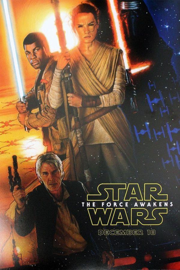 Cartel filtrado de Star Wars