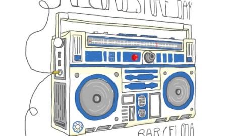 Cartel promocional del Record Store Day de Barcelona