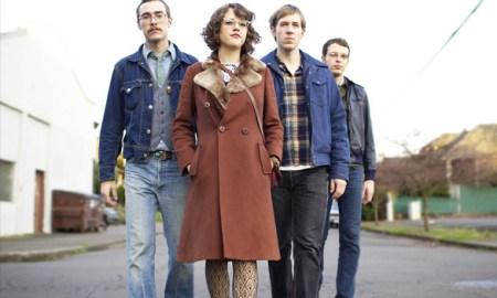Imagen promocional de Sally y su banda