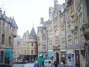 Edinburgh - bloody drafty