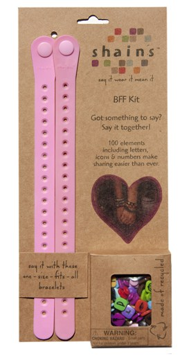 BFF Bracelet Kit - Gifts for Children - FantabulouslyFrugal.com 2012 Holiday Gift Guide - #giftguide