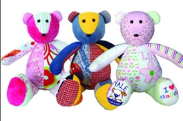 The Patchwork Bear - Gift for New Parents