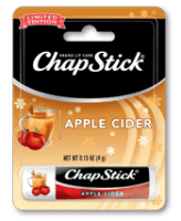 Apple Cider ChapStick - Stocking Stuffers for Women - FantabulouslyFrugal.com 2012 Holiday Gift Guide - #giftguide #stockingstuffers