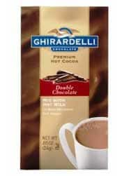Ghirardelli Hot Chocolate - Stocking Stuffers for Men - FantabulouslyFrugal.com 2012 Holiday Gift Guide - #giftguide #stockingstuffers