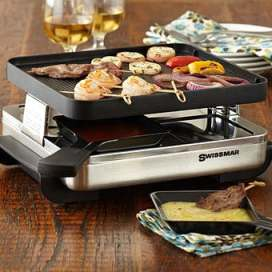 Swissmar 4 Person Raclette from Stonewall Kitchen