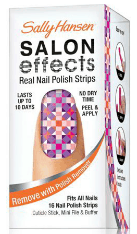 Sally Hansen Salon Effects Nail Polish Strips - Stocking Stuffers for Women - FantabulouslyFrugal.com 2012 Holiday Gift Guide - #giftguide #stockingstuffers