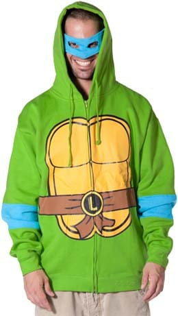 Teenage Mutant Ninja Turtle Hoodie - Gifts for Teens - FantabulouslyFrugal.com 2012 Holiday Gift Guide