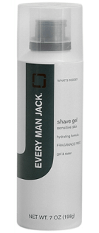 Every Man Jack Shave Gel - Stocking Stuffers for Men - FantabulouslyFrugal.com 2012 Holiday Gift Guide - #giftguide #stockingstuffers