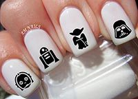 Star Wars Nail Decals