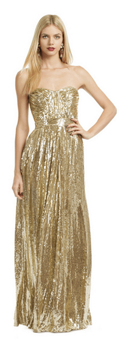 Badgley Mischka Screen Siren Gown