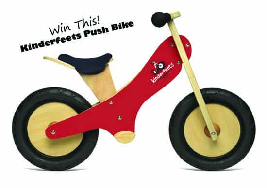 Giveaway: Win a Kinderfeets Push Bike from fantabulouslyfrugal.com