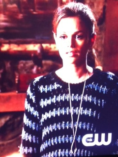 Hart of Dixie Zoe Hart Wishbone Necklace