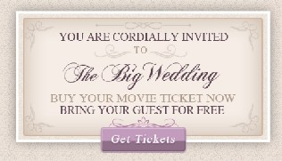the big wedding tickets
