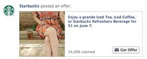 Starbucks $1 Drink Coupon