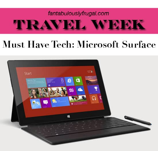 The Microsoft Surface Makes Traveling and Blogging Easy