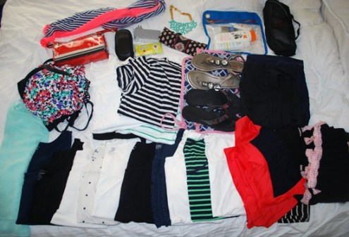 Packing for St. Lucia