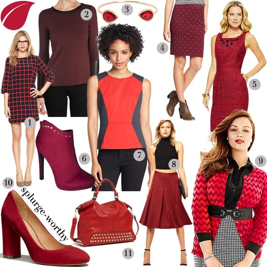 Fall 2013 Color Trends: Red, red, and oxblood