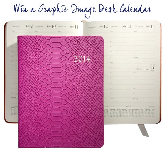 Win a Graphic Image Desk Calendar
