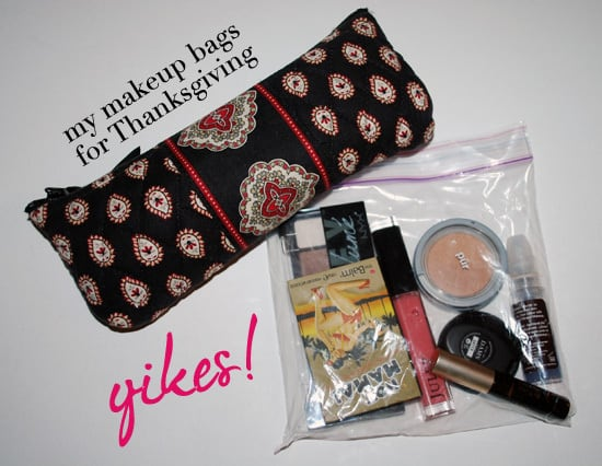 Thanksgiving Makeup Bag