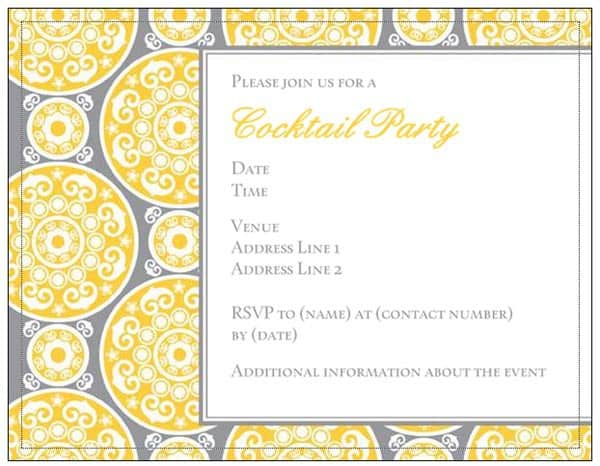 Vistaprint Party Invitation