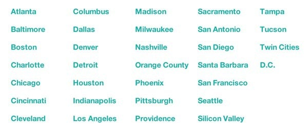 Lyft Cities