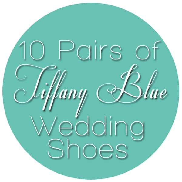 10 Pairs of Tiffany Blue Wedding Shoes