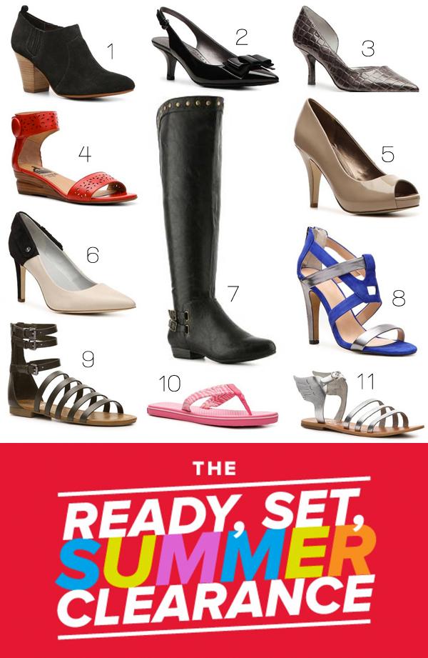 DSW Summer Shoe Clearance
