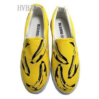 banana print slip on