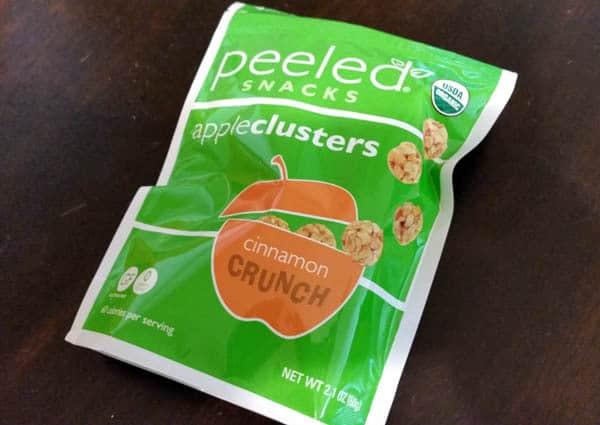 Peeled Snacks Cinnamon Apple Clusters