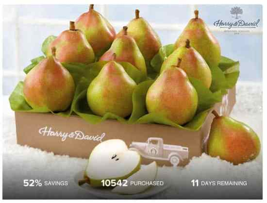 Harry & David Maverick Royal Riviera Pears