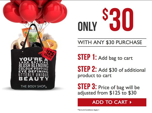 The Body Shop Black Friday Bag