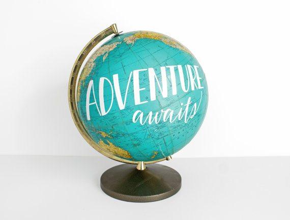 Adventure Awaits Globe from Wild & Free