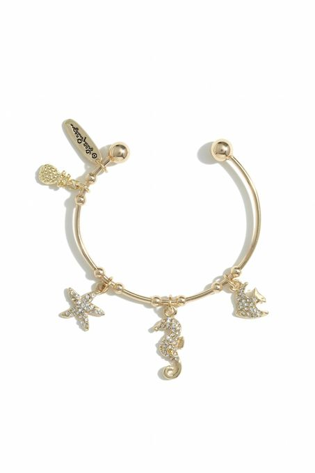 Bangle Bracelet Gold