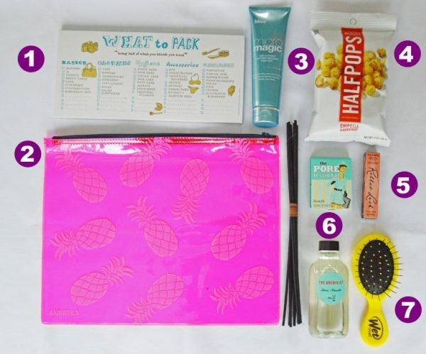 March PopSugar Must Have Contents
