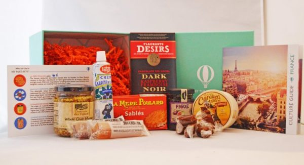 Subscription Box Review: Try The World- Paris Box