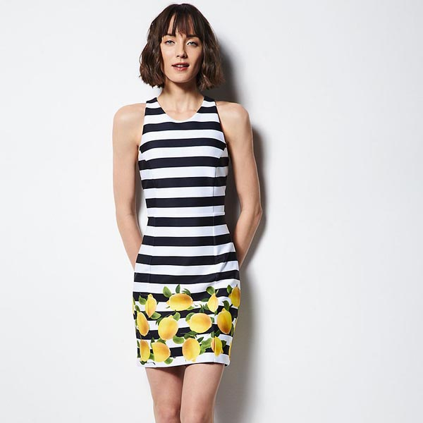 Milly Citrus Combo Dress