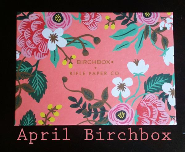 April 2015 Birchbox