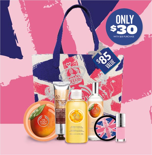 The Body Shop Mother's Day Tote