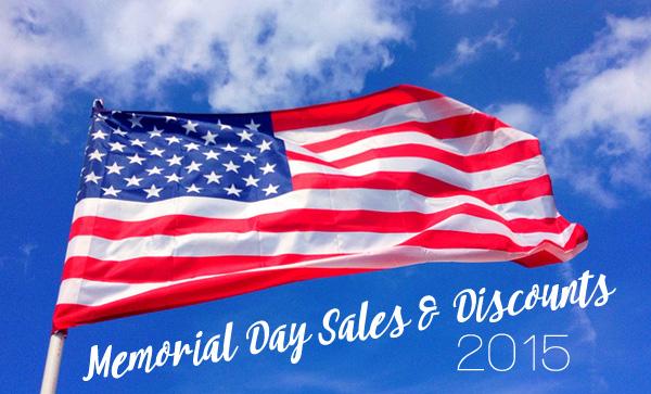 Memorial Day Sales & Discounts