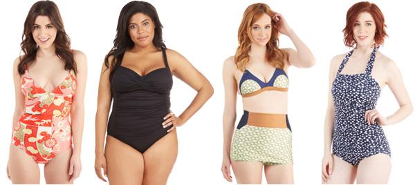 Swimwear from ModCloth Sale