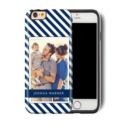 Navy Personalized iPhone 6 Case