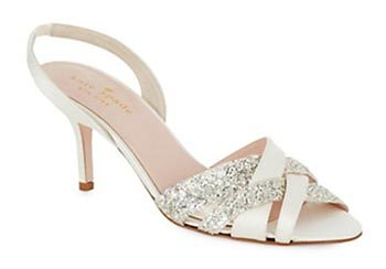 KATE SPADE NEW YORK Sasha Satin Slingback Sandals
