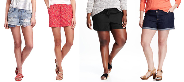 50% Off Shorts from Old Navy
